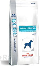 Royal canin VD Canine Hypoallergenic Moderate Energy 14kg