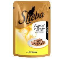Sheba kapsa Cuisine kuřecí maso ve šťávě 85g