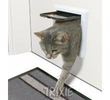 Dvířka kočka plast Bílá 2P Freecat Classic Trixie Bílá