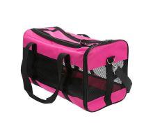 Nylonová přepravní taška RYAN 26 x 27 x 47cm do 6kg, růžová