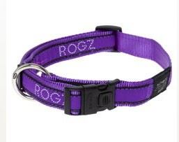 Rogz obojek Fancy Dress fialová M 26-40 / 1, 6cm