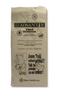 Sáčky na psí exkrementy papírové, páskované 25ks