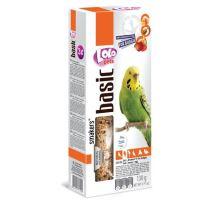 LOLO SMAKERS 3v1 MIX ovoce,med,vejce pro andulky 90 g
