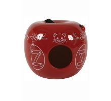 Domek pro hlodavce Jablko 13x13x11cm