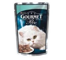 Gourmet Perle kapsa kočka se pstruhem a špenátem 85g