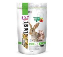 LOLO BASIC ovocné krmivo pro králíky a křečky 600g Doypack
