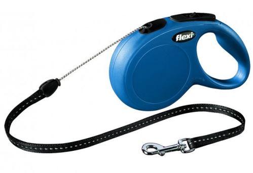 Vodítko FLEXI New Classic S lanko 8m Modrá