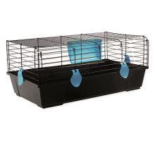 Klec SMALL ANIMAL Ludvík černá s modrou výbavou 1ks