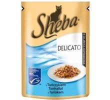 Sheba kapsa Delicato tuňák v želé 85g