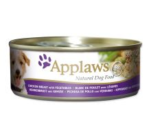 APPLAWS dog chicken, vegetables & rice 156g