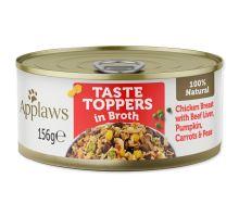 APPLAWS dog chicken, beef liver & vegetables 156g
