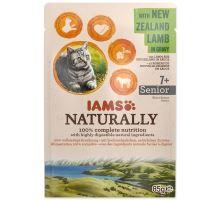 IAMS Cat Naturally Senior with New Zealand Lamb in Gravy 85g