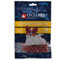 ONTARIO snack duck dice small dog 70g