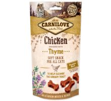 CARNILOVE Cat Semi Moist Snack Chicken enriched with Thyme 50g