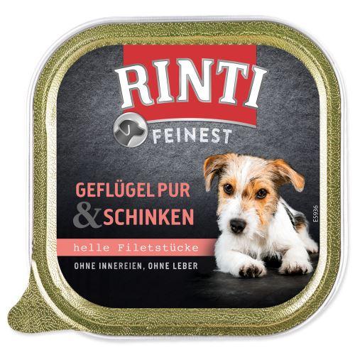 Vanička RINTI Feinest drůbež + šunka 150g