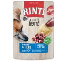Kapsička RINTI Leichte Beute hovězí + kuřecí srdíčka