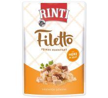Kapsička RINTI Filetto kuře + kuřecí srdce v želé