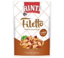 Kapsička RINTI Filetto kuře + jehně v želé 100 g