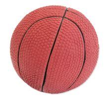 DOG FANTASY Latex basketball míč se zvukem 7,5 cm 1ks