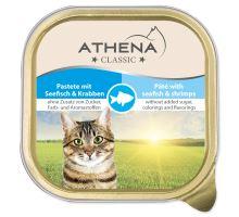 ATHENA paštika ryba + krab 100g