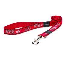 Vodítko ROGZ Fancy Dress Red Bone XL 1ks